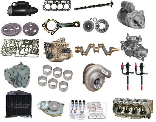 most popular engine and engine parts