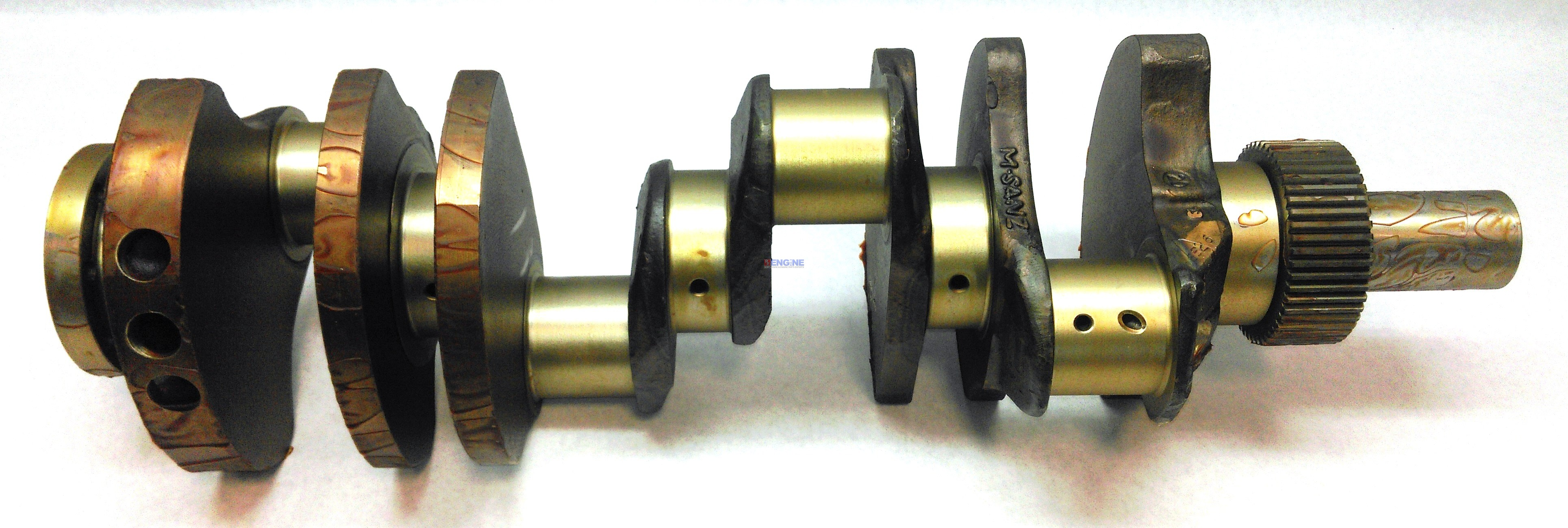 New Forged Crankshaft Caterpillar 3208 Replaces 2w0085