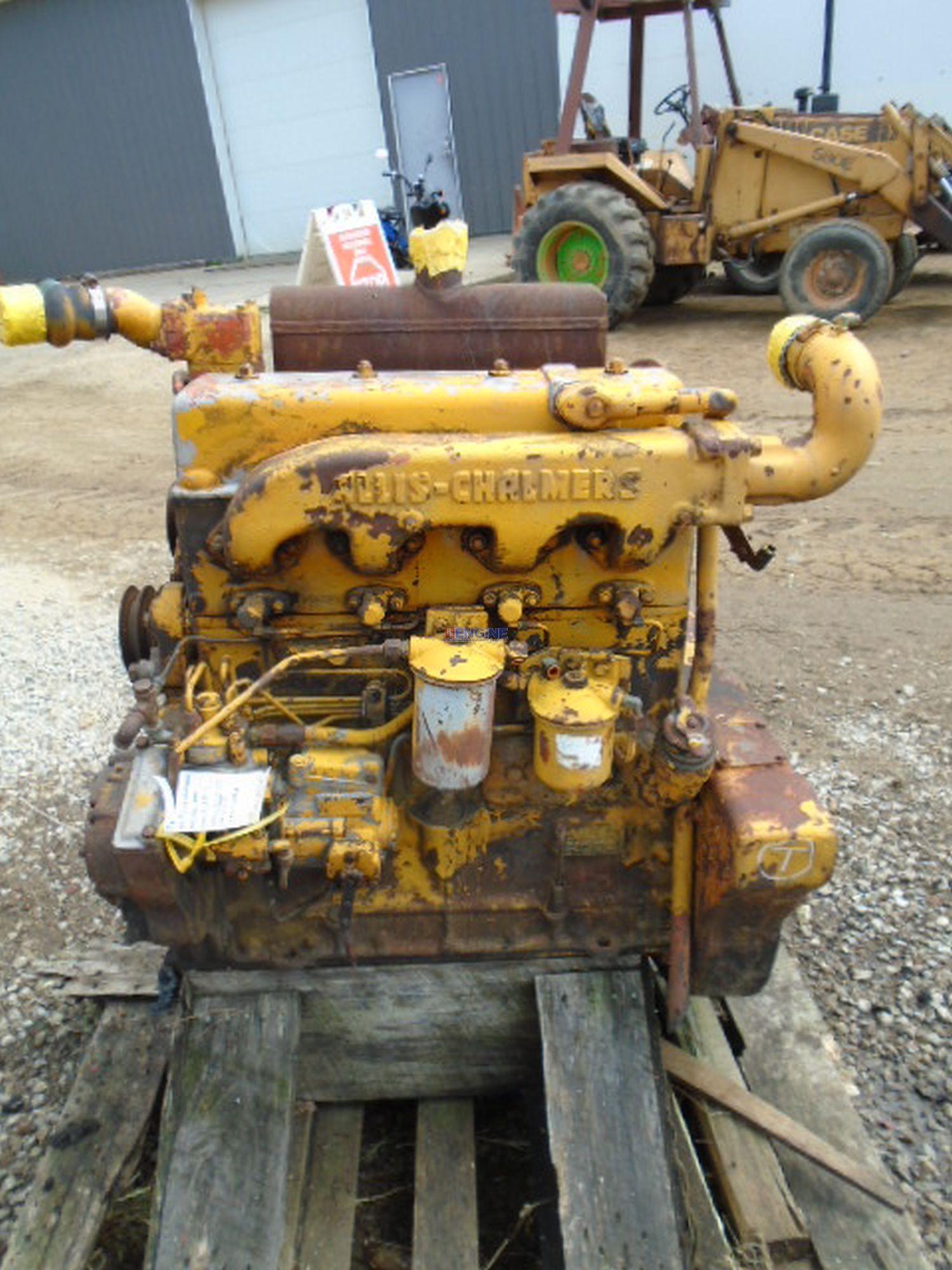 Allis Chalmers Hd344 Engine Complete Cranking Core 92348