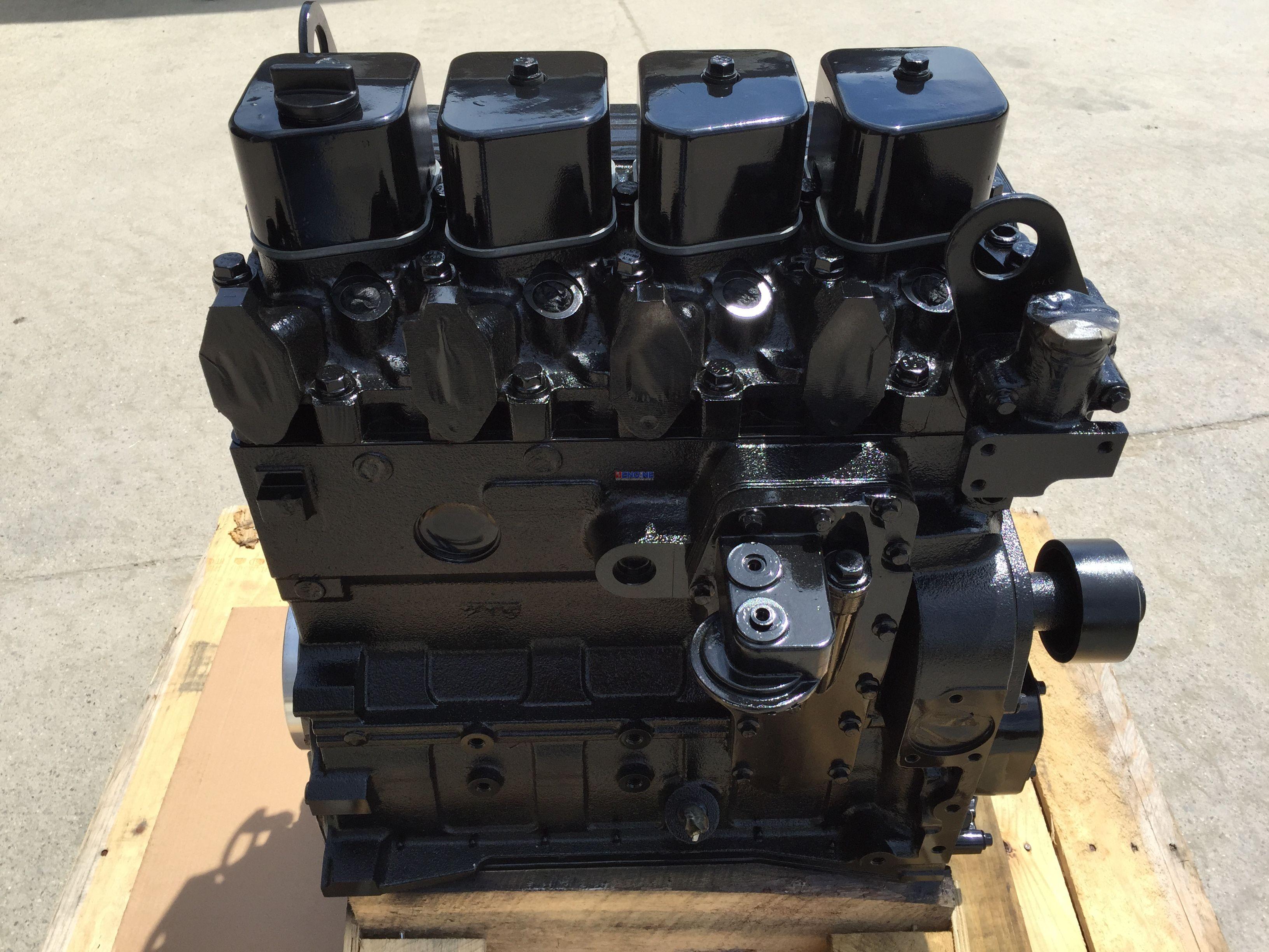Cummins Cm 4b Engine Long Block Rebuilt Cpl 690 727 730