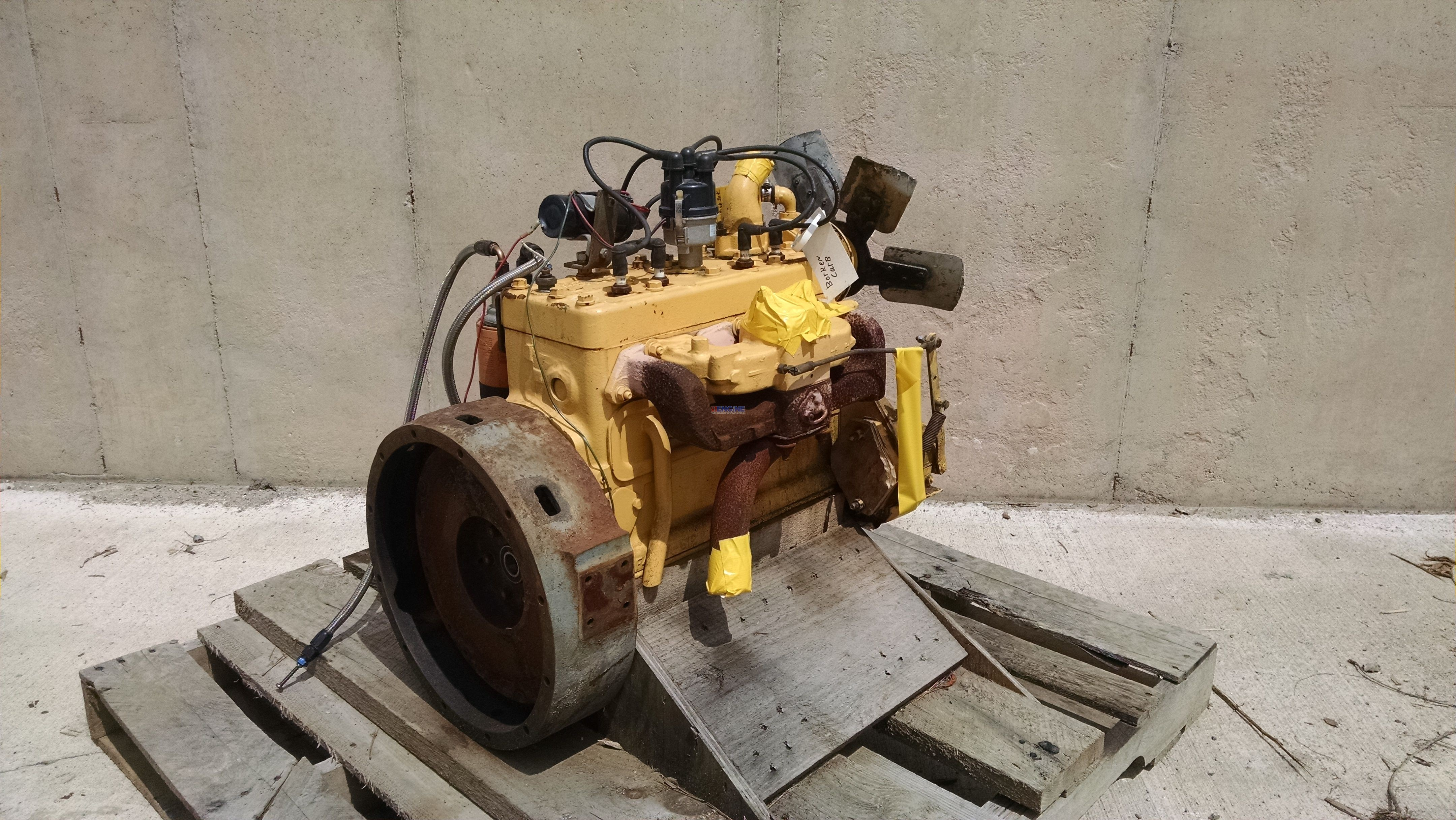 Continental Cn F163 Engine Complete Used Esn F4001613 Bcn
