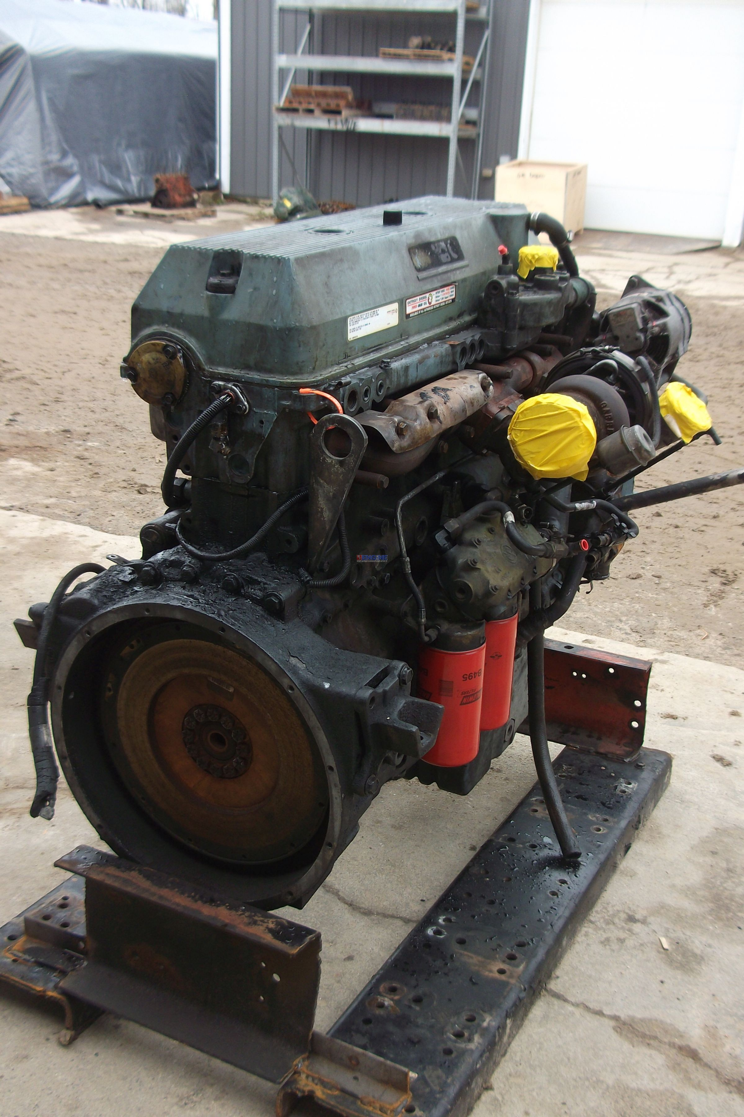 Detroit series 60 turbo 127l diesel turbocharger ebay!