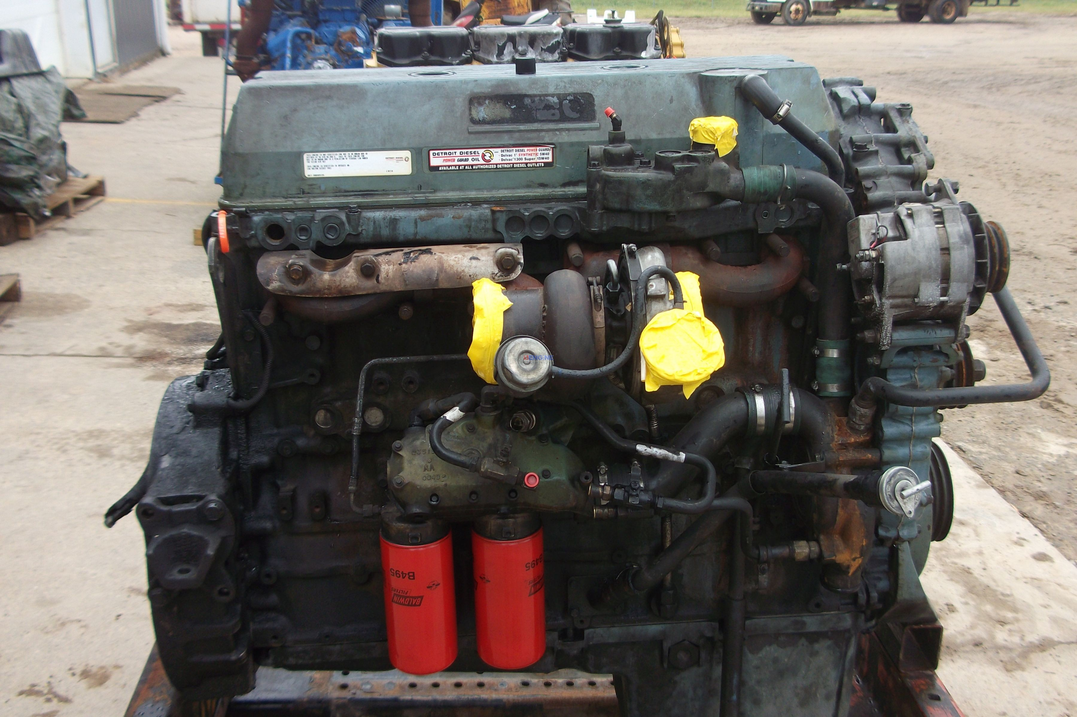 Detroit diesel engine, used diesel engine