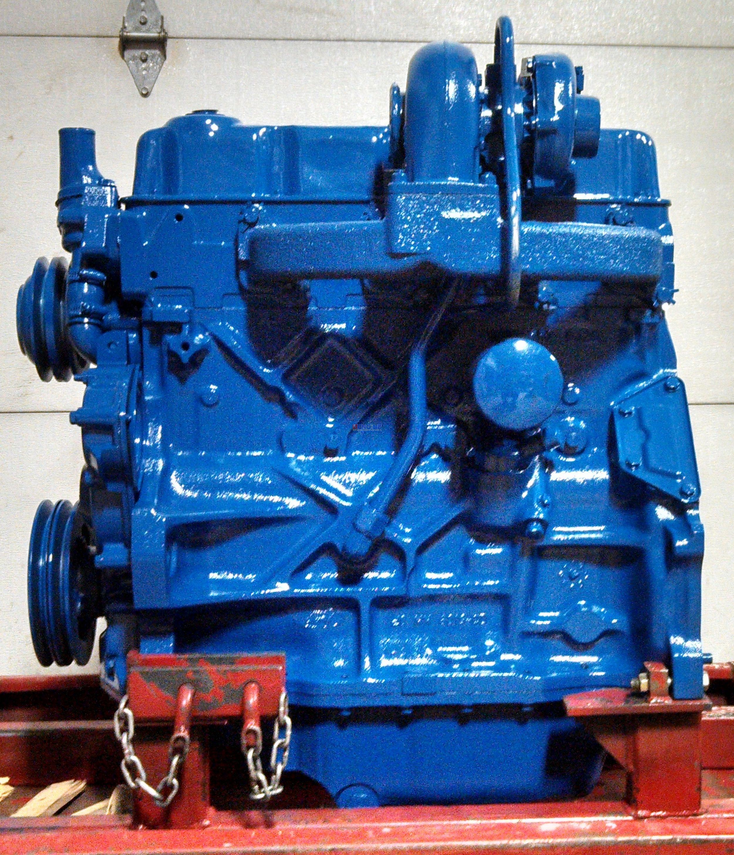 Engine reman ford newholland 268t 4 cyl diesel for Best motor oil for 4 cylinder engines