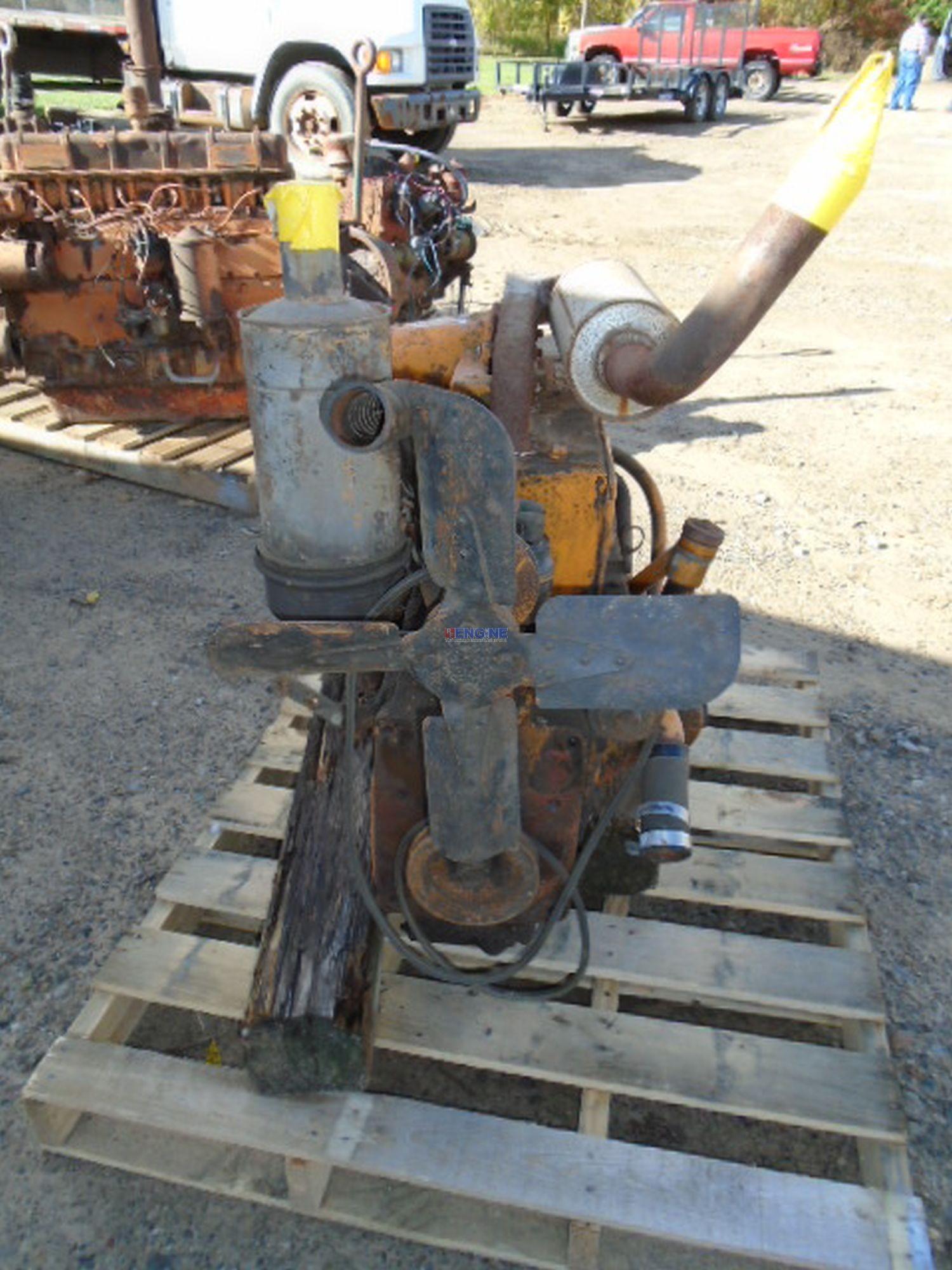 Minneapolis Moline Engine Parts : Minneapolis moline b l engine complete vintage