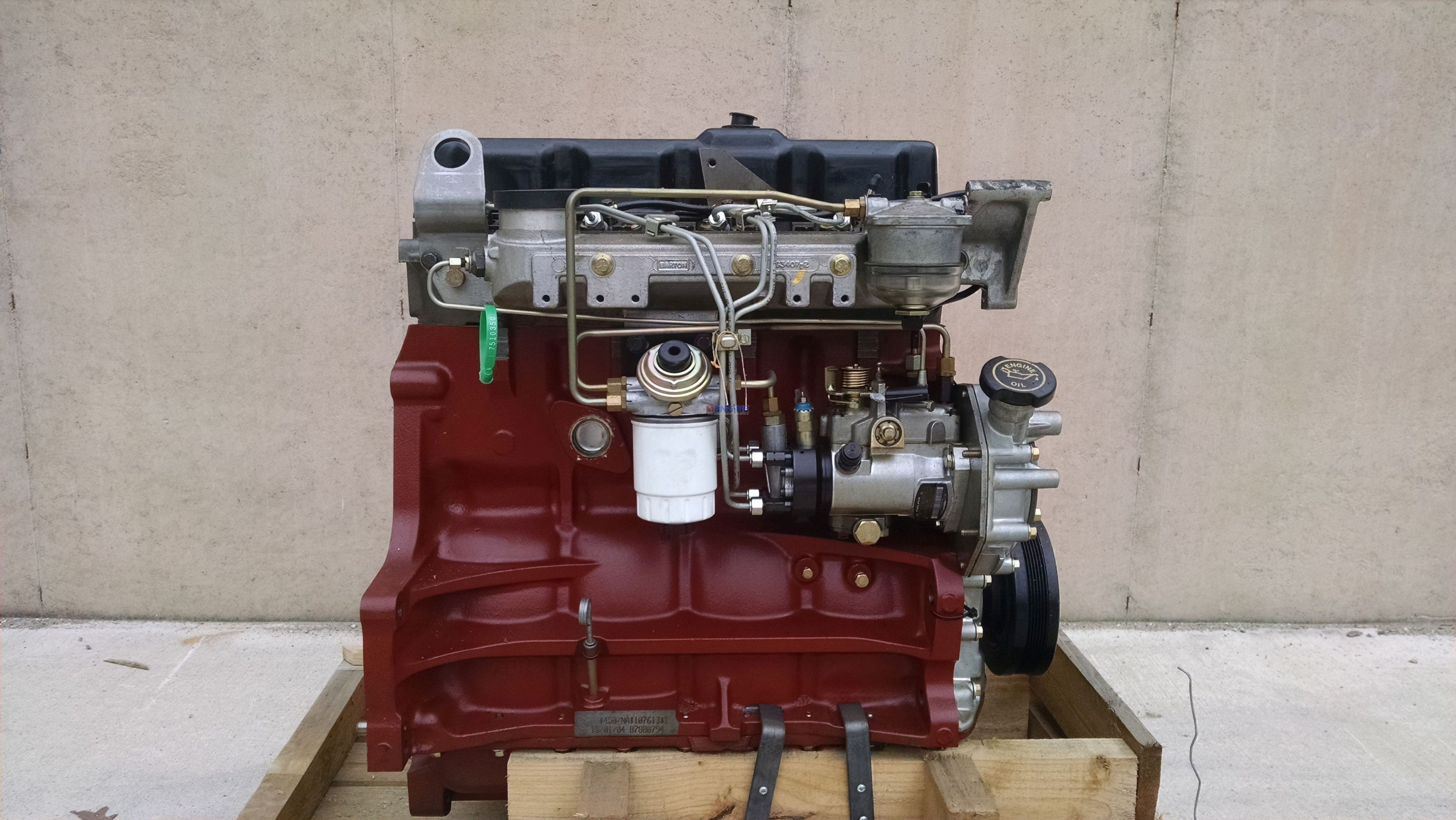 new holland nf 304 engine complete new bcn  87800794 4 cyl
