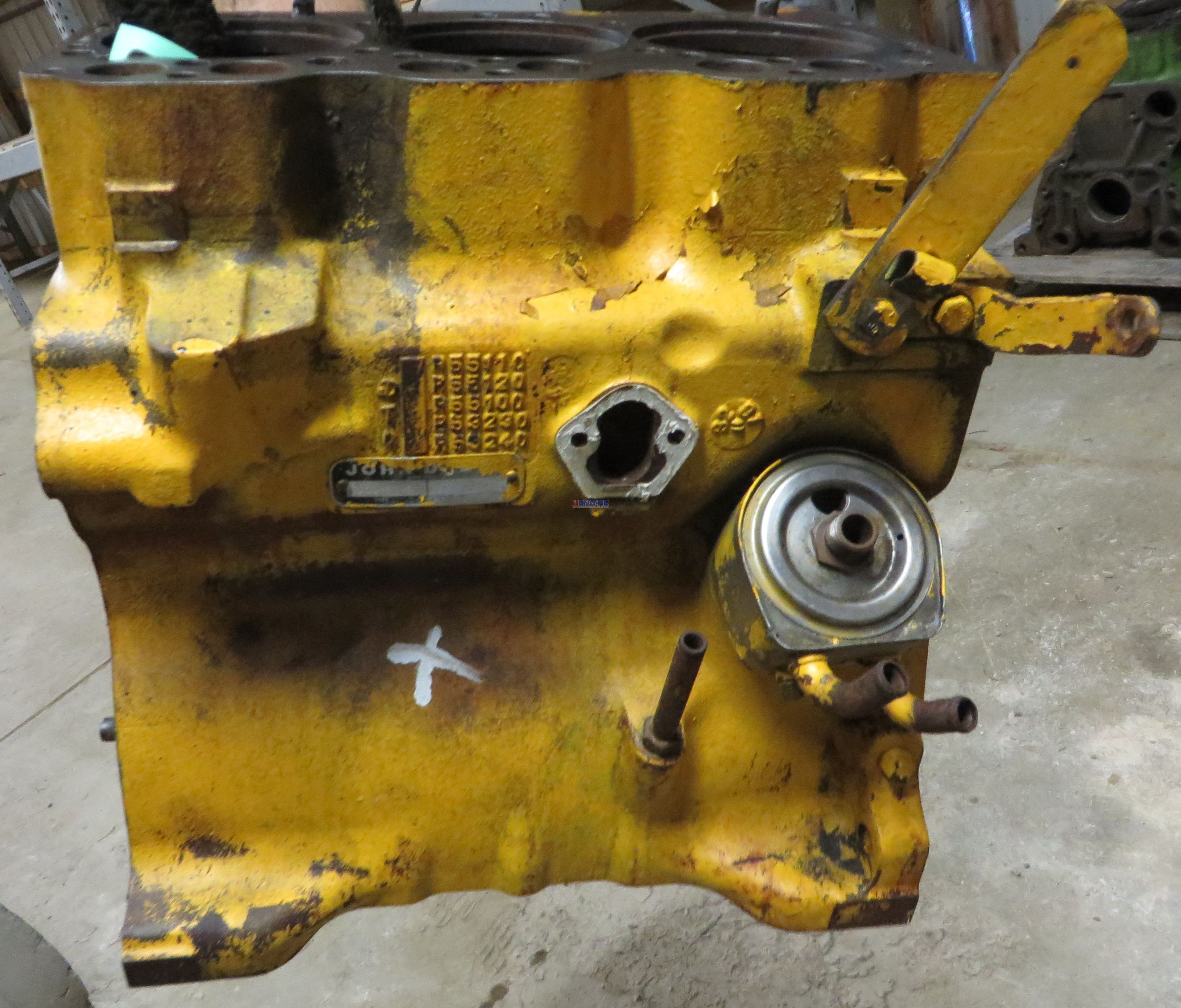 John Deere 1020 Engine : John deere jd engine block good used r cyl