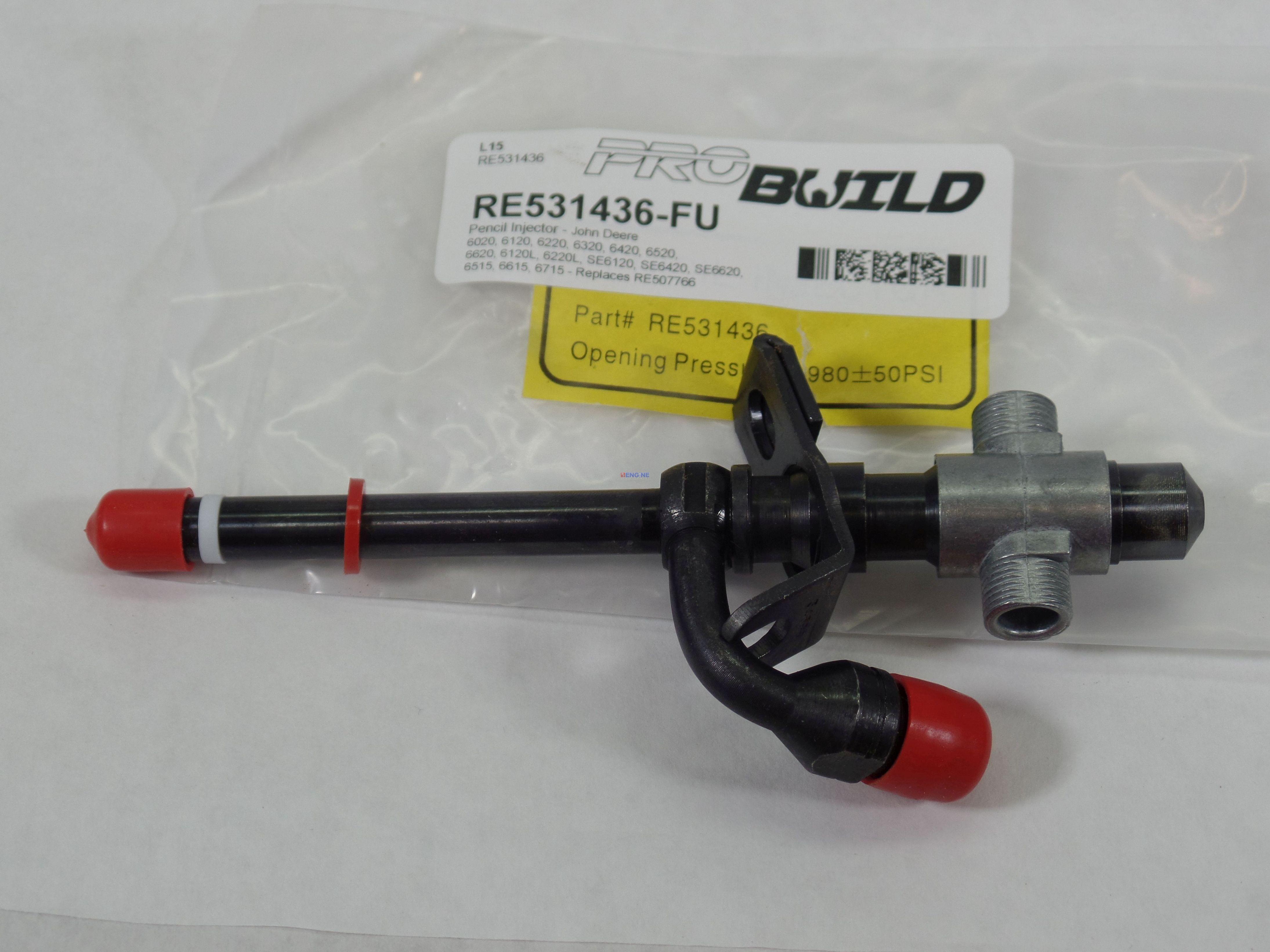 John Deere Fuel Injector Parts : Fits john deere jd d t injector