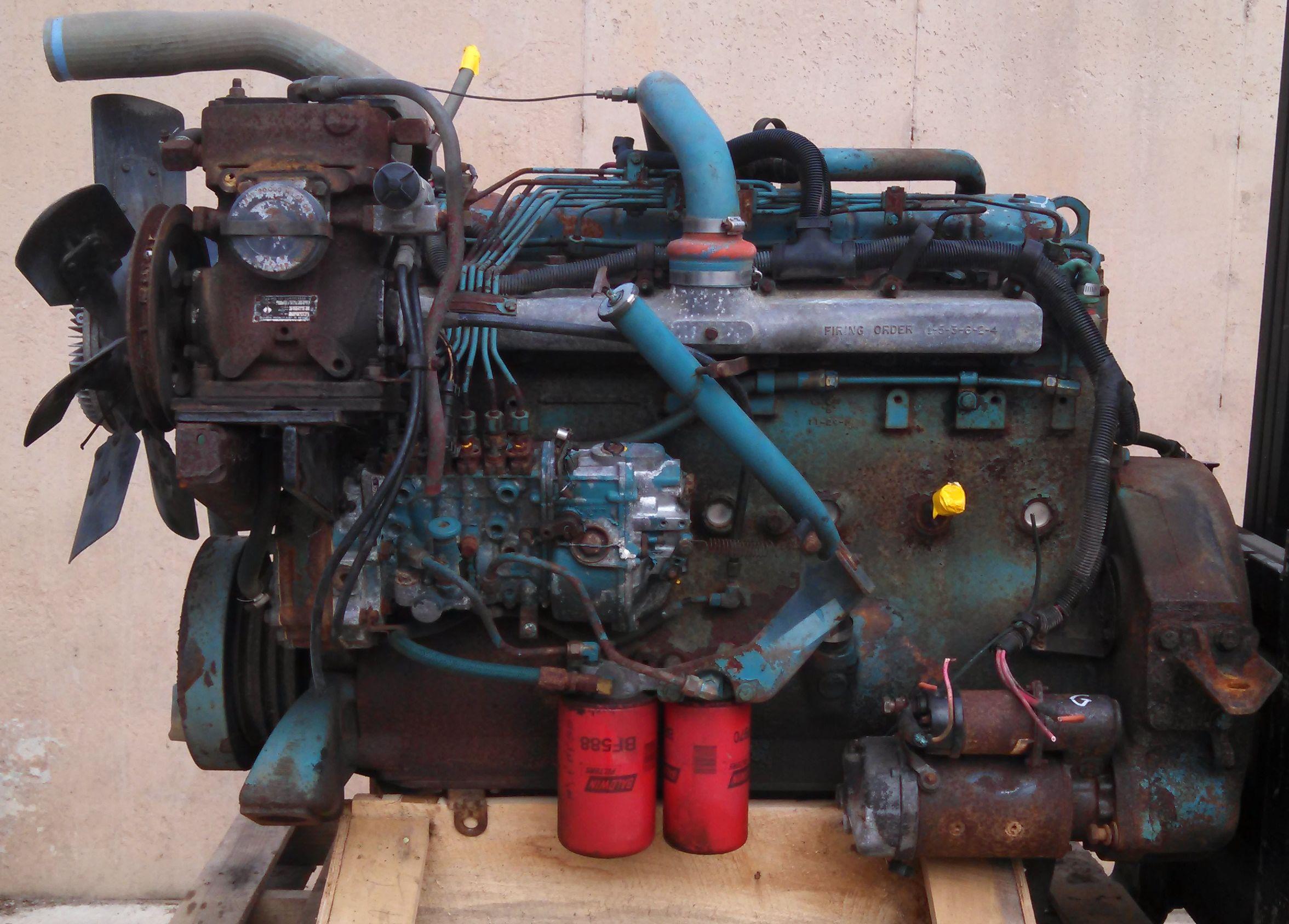 International Ih Dt466 Engine Good Running Ser